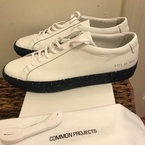 best service 60dc4 9359a NEW Common Projects Achilles Confetti Sole Sneaker